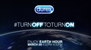 Earth Hour Durex