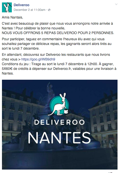 concours deliveroo