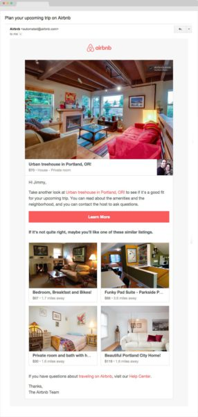 airbnb-retention-email-marketing-example