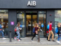 Pedestrians pictured AIB in Dublin City Ireland today 23 June 2017. Photograph: Bloomber/Aidan Crawley