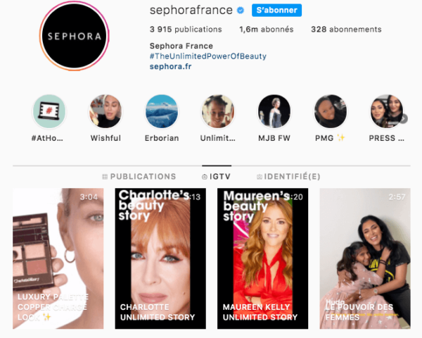 sephora-igtv-instagram-tv-article-make-it-digital-audencia